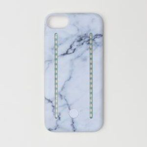 H&M LIGHT UP SELFIE  CASE MARBLE IPHONE6 NEW
